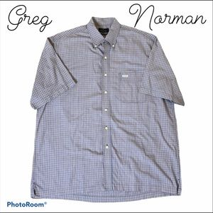 Greg Norman Collection button down short sleeve L